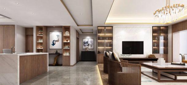 雅居乐御宾府251平米五居室中式风格设计方案效果图参考
