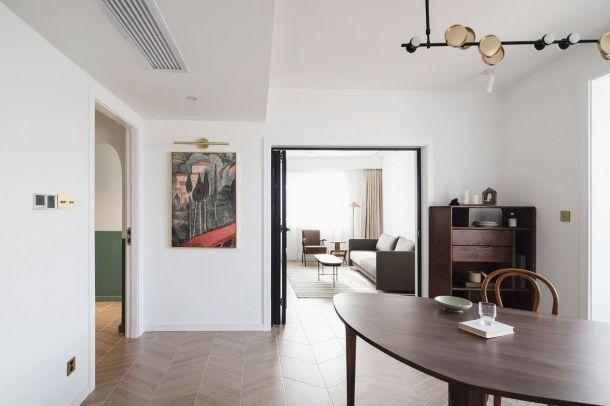 林凯城90平米三居室现代简约风格设计方案效果图参考