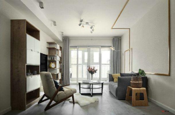 天正花园118平三居室现代简约风格设计方案效果图