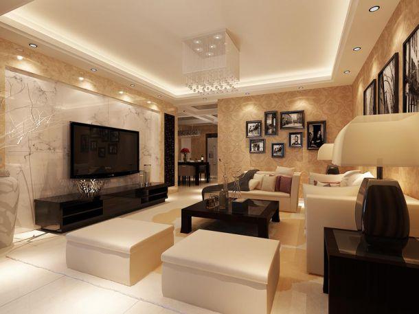 泾阳家属院140平现代设计风格