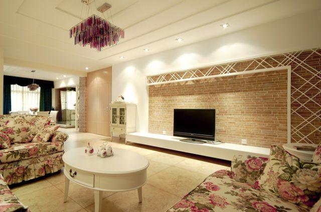 白桦林国际145平米田园风格设计