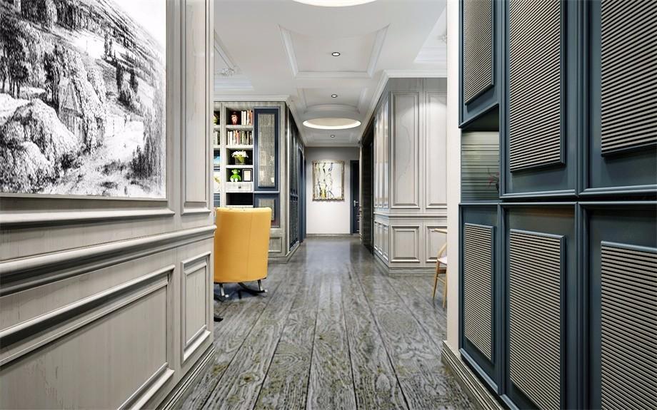 金地湖城大境150平-三居室-简约风格