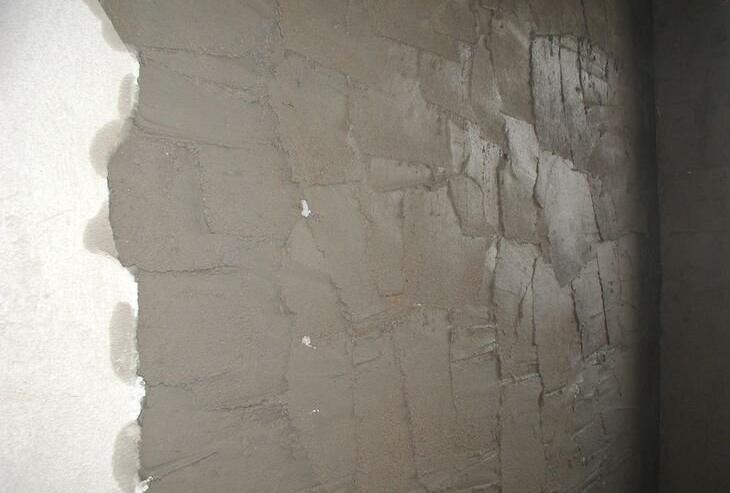 红砖墙面如何不喷水抹水泥